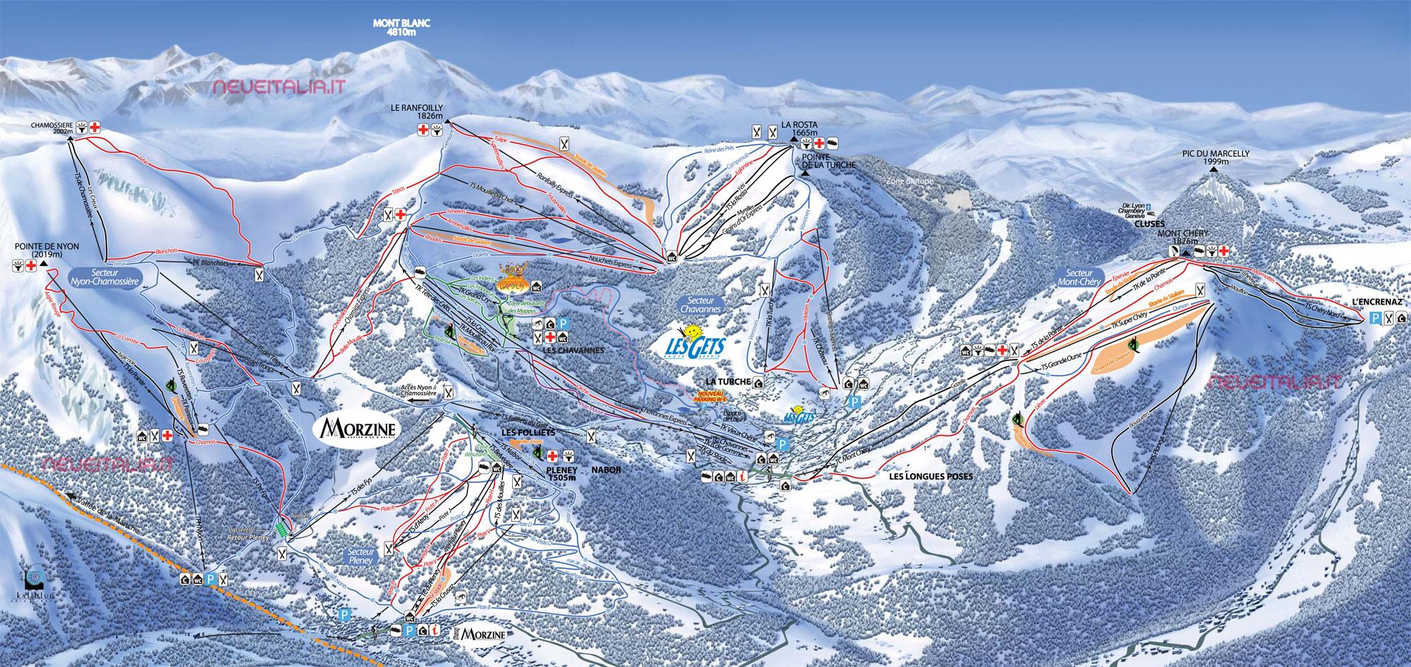 Kitzbuhel piste maps Ski Club of Great