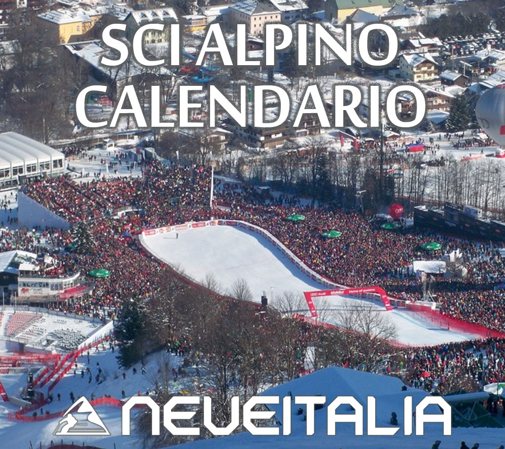 Calendario Coppa Del Mondo Di Sci.Calendario Coppa Del Mondo Maschile Sci Alpino 2019 2020